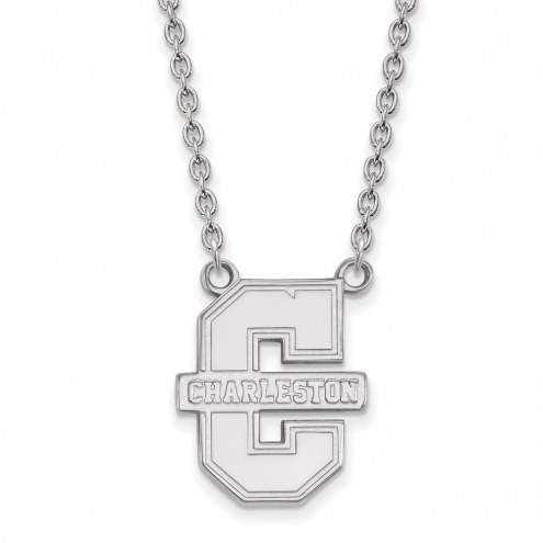 Charleston Cougars Sterling Silver Large Pendant Necklace
