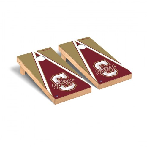 Charleston Cougars Triangle Cornhole Game Set
