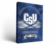 Charleston Southern Buccaneers Banner Canvas Wall Art