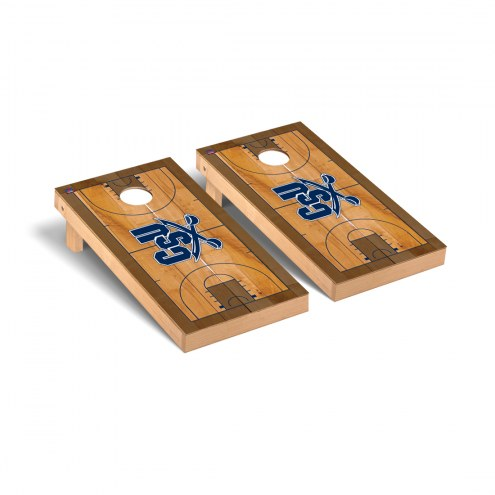Charleston Southern Buccaneers Basketball Court Cornhole Game Set
