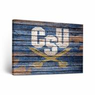 Charleston Southern Buccaneers Weathered Canvas Wall Art