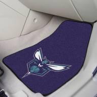 Charlotte Hornets 2-Piece Carpet Car Mats
