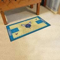 Charlotte Hornets NBA Court Large Runner
