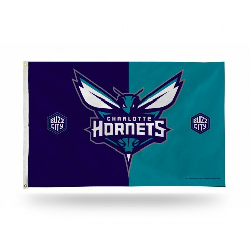 Charlotte Hornets 3' x 5' Banner Flag