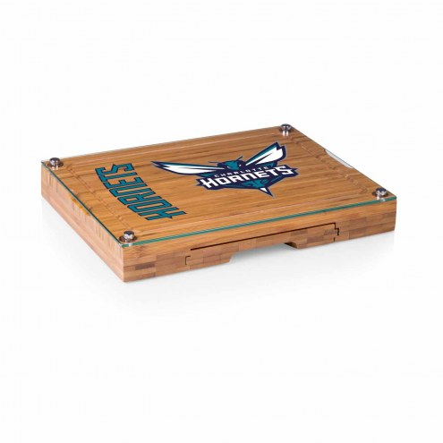 Charlotte Hornets Concerto Bamboo Cutting Board