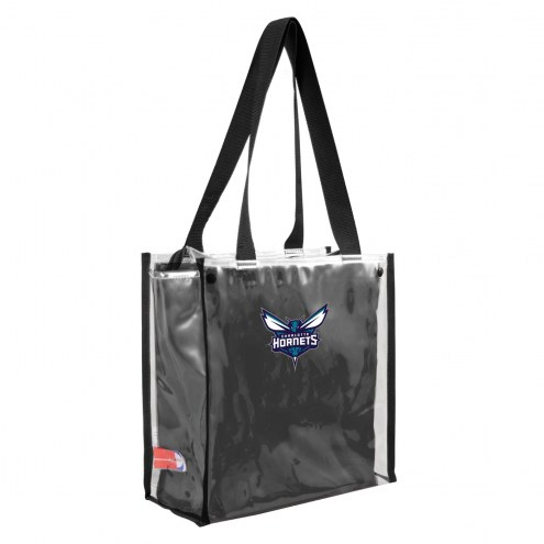 Charlotte Hornets Convertible Clear Tote