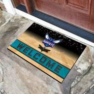 Charlotte Hornets Crumb Rubber Door Mat