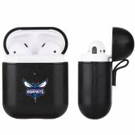 Charlotte Hornets Fan Brander Apple Air Pods Leather Case