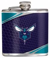 Charlotte Hornets Hi-Def Stainless Steel Flask