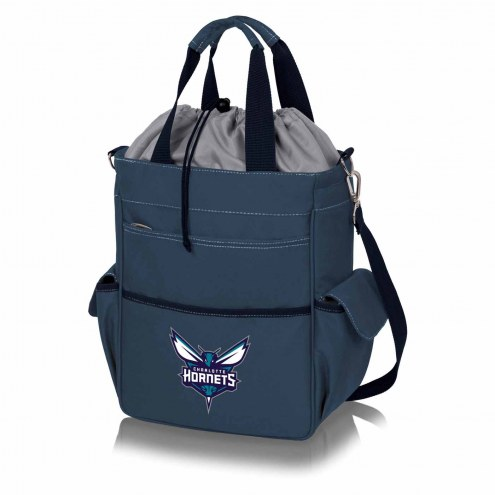 Charlotte Hornets Navy Activo Cooler Tote