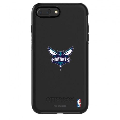 Charlotte Hornets OtterBox iPhone 8/7 Symmetry Black Case