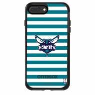 Charlotte Hornets OtterBox iPhone 8/7 Symmetry Stripes Case