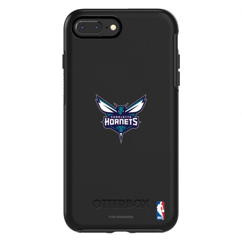 Charlotte Hornets OtterBox iPhone 8 Plus/7 Plus Symmetry Black Case