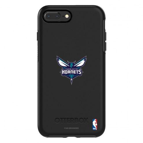 Charlotte Hornets OtterBox iPhone 8 Plus/7 Plus Symmetry Black Case