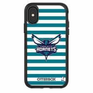 Charlotte Hornets OtterBox iPhone X/Xs Symmetry Stripes Case