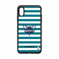 Charlotte Hornets OtterBox iPhone XS Max Symmetry Stripes Case