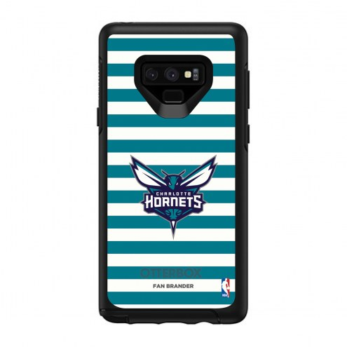 Charlotte Hornets OtterBox Samsung Galaxy Note9 Symmetry Stripes Case