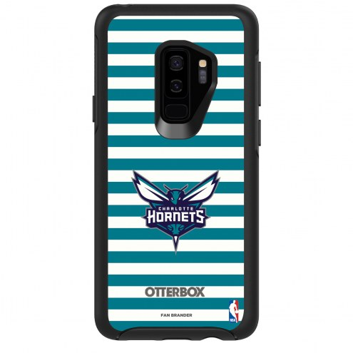 Charlotte Hornets OtterBox Samsung Galaxy S9+ Symmetry Stripes Case