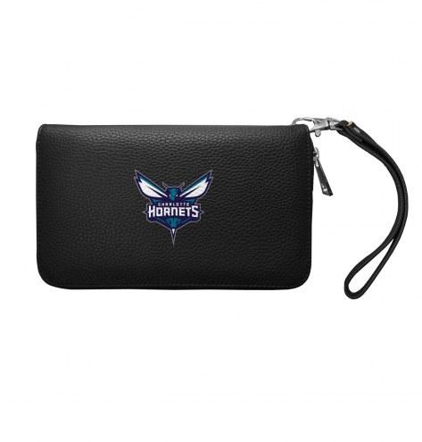 Charlotte Hornets Pebble Organizer Wallet