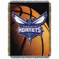 Charlotte Hornets Photo Real Throw Blanket