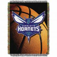 Charlotte Hornets Photo Real Throw Blanket