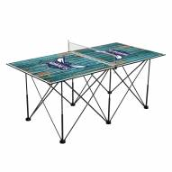 Charlotte Hornets Pop Up 6' Ping Pong Table