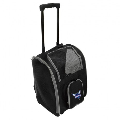Charlotte Hornets Premium Pet Carrier with Wheels
