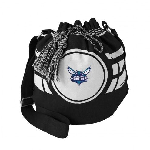 Charlotte Hornets Ripple Drawstring Bucket Bag