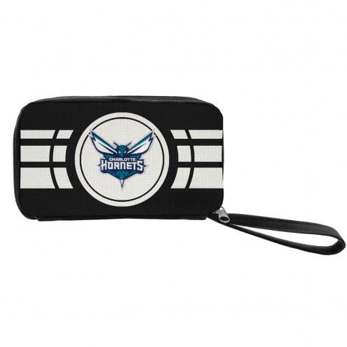 Charlotte Hornets Ripple Zip Wallet