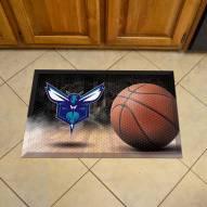 Charlotte Hornets Scraper Door Mat