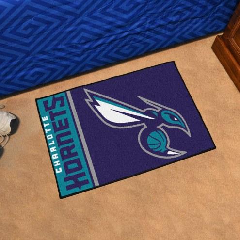 Charlotte Hornets Uniform Inspired Starter Rug