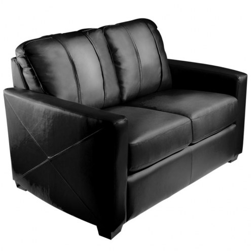 Charlotte Hornets XZipit Silver Loveseat with Secondary Logo