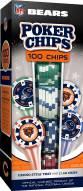 Chicago Bears 100 Poker Chips