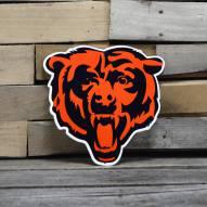 """Chicago Bears 12"""" Steel Logo Sign"""