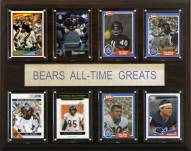 "Chicago Bears 12"" x 15"" All-Time Greats Plaque"