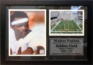 "Chicago Bears 12"" x 18"" Walter Payton Photo Stat Frame"