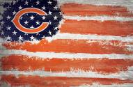 "Chicago Bears 17"" x 26"" Flag Sign"