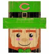 "Chicago Bears 19"" x 16"" Leprechaun Head"
