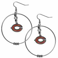 """Chicago Bears 2"""" Hoop Earrings"""