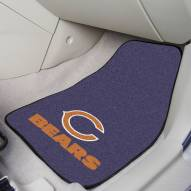 Chicago Bears 2-Piece Carpet Car Mats