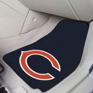 Chicago Bears 2-Piece Carpet Car Mats