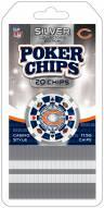 Chicago Bears 20 Piece Poker Chips Set
