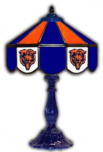 """Chicago Bears 21"""" Glass Table Lamp"""