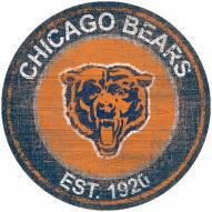 "Chicago Bears 24"" Heritage Logo Round Sign"