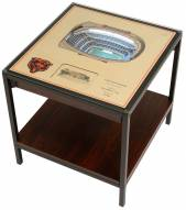 Chicago Bears 25-Layer StadiumViews Lighted End Table