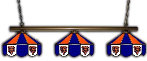 Chicago Bears 3 Shade Pool Table Light