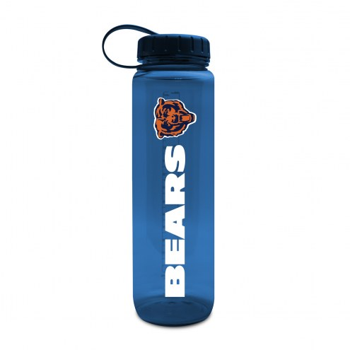 Chicago Bears 32 oz. Clear Plastic Water Bottle