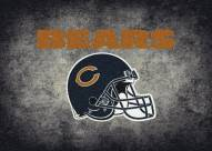 Chicago Bears 4' x 6' NFL Distressed Area Rug