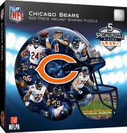 Chicago Bears 500 Piece Helmet Shaped Puzzle