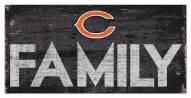 "Chicago Bears 6"" x 12"" Family Sign"